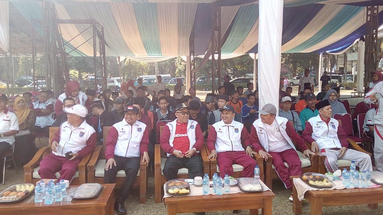 Wali Kota Depok, Mohammad Idris Motivasi santri untuk sehat dan kuat
