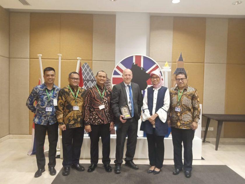 Kunjungi Dubes Inggris, Kemenhub Berharap Dukungan Pada Pemilihan Dewan IMO