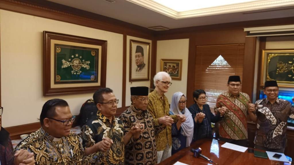Nyatakan Sikap Untuk Papua Damai, Tokoh Lintas Agama di PBNU