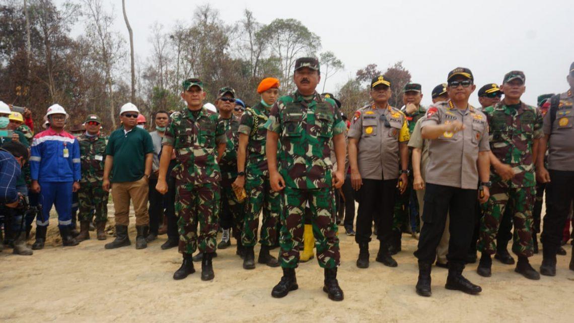 Panglima TNI Akan Terbangkan Drone/UAV Pantau Karhutla Riau