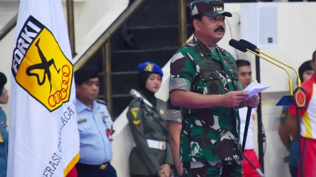 Panglima TNI Buka Kejurnas Karate Piala Panglima TNI ke-VII