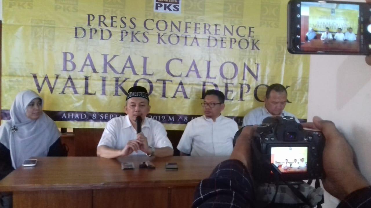 PKS Tidak Cantumkan Mohammad Idris sebagai Calon Wali Kota
