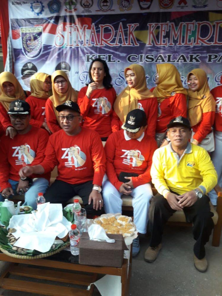 Meriahnya Semarak Kemerdekaan Warga Cisalak Pasar