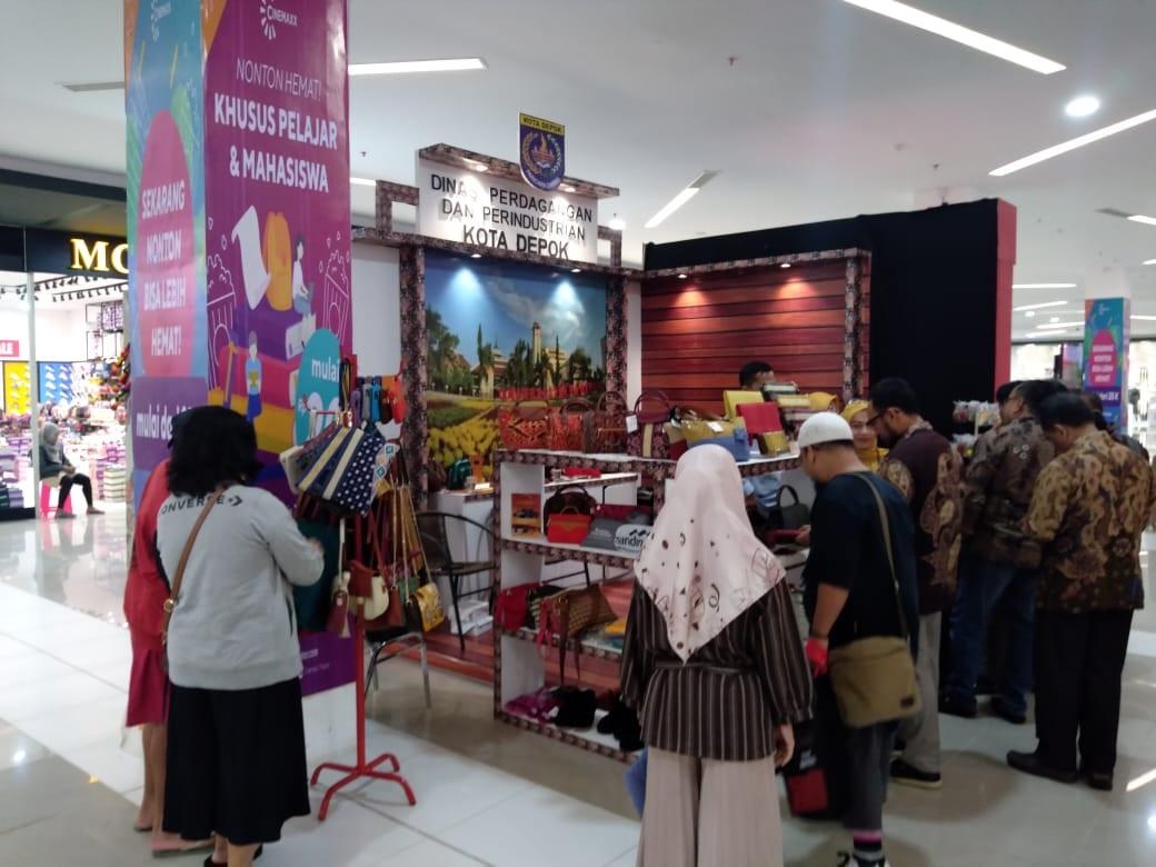 Tiga IKM Depok Difasilitasi ke Pameran Javatime Expo 2019