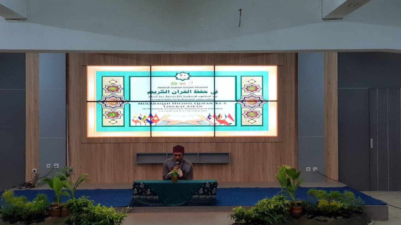 Pondok Pesantren Darunnajah Gelar Musabaqah Hifzil Quran (MHQ) ke-5 Antar Pesantren Tingkat ASEAN Tahun 2019