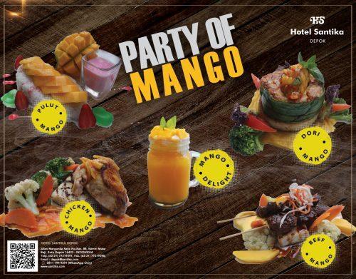Party of Mango di Kafe Anjani Hotel Santika Depok