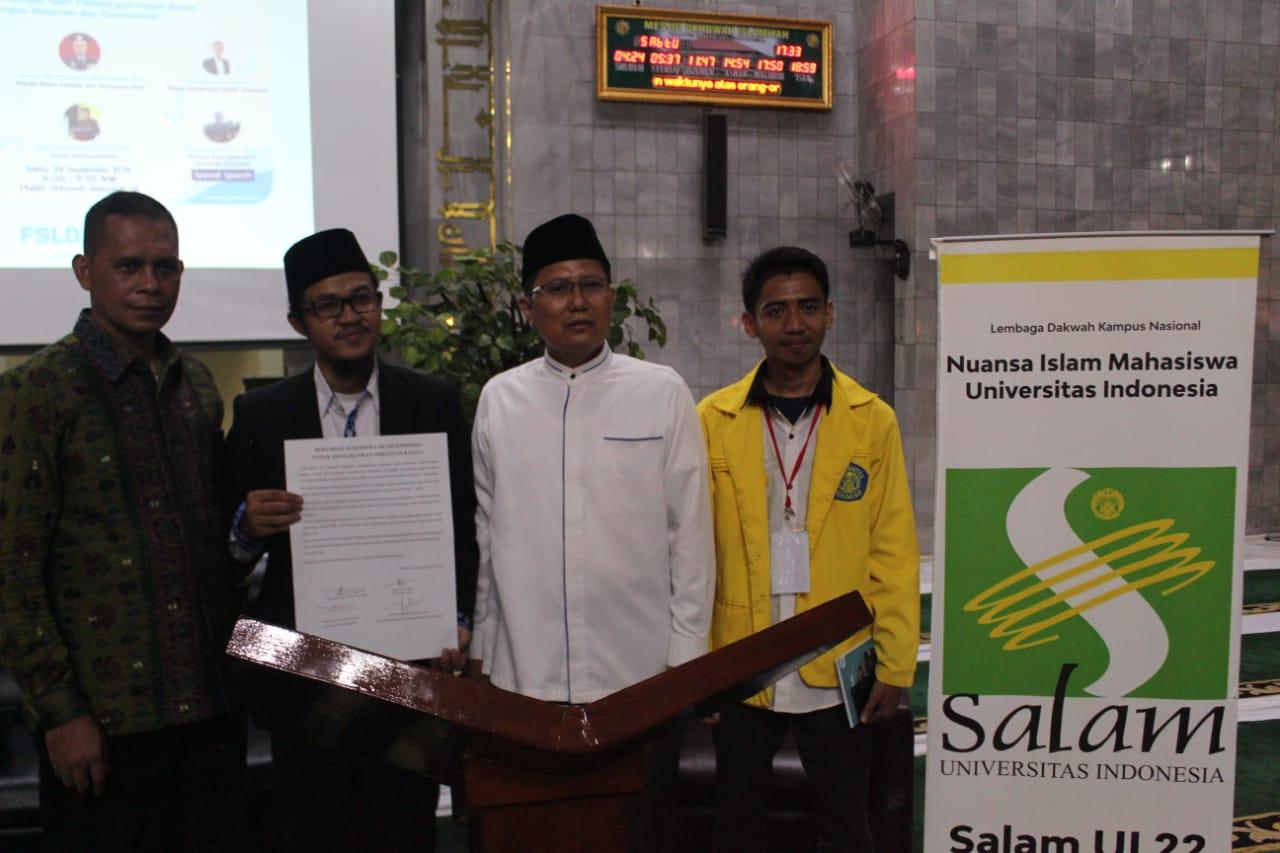 LDK Se-Indonesia Gelar Sekolah Kebangsaan di UI