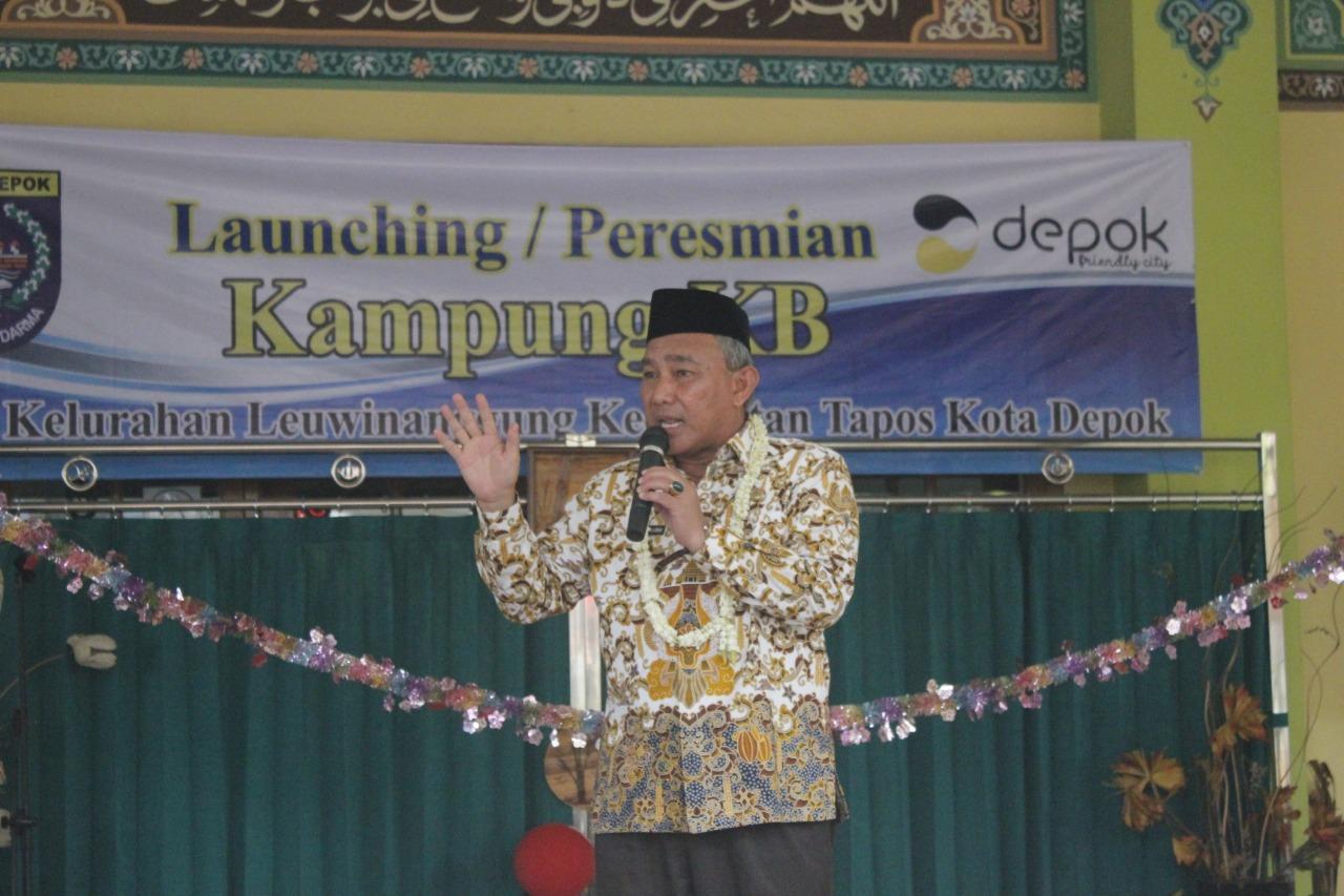 Kampung KB diresmikan kembali, Kali Ini di Kelurahan Leuwinanggung