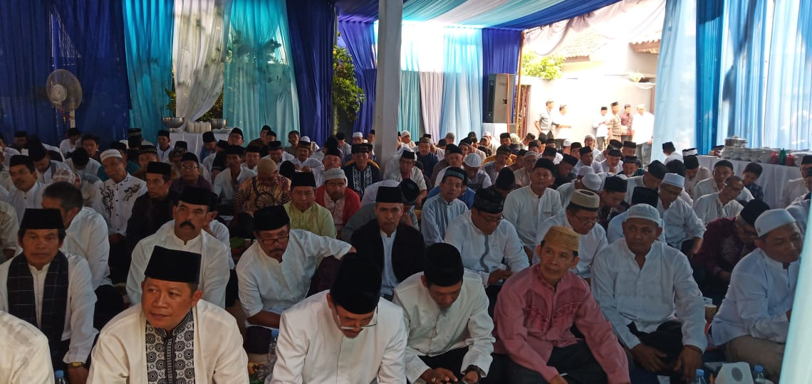 Ribuan Warga Hadiri Tahlilan 40 Hari Meninggalnya Mohammad Yamin, Adik Wali Kota Depok