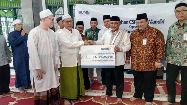 Bank Mandiri Memberi Bantuan ke Pemerintahan Kota Depok Lewat Program CSR Bank Mandiri