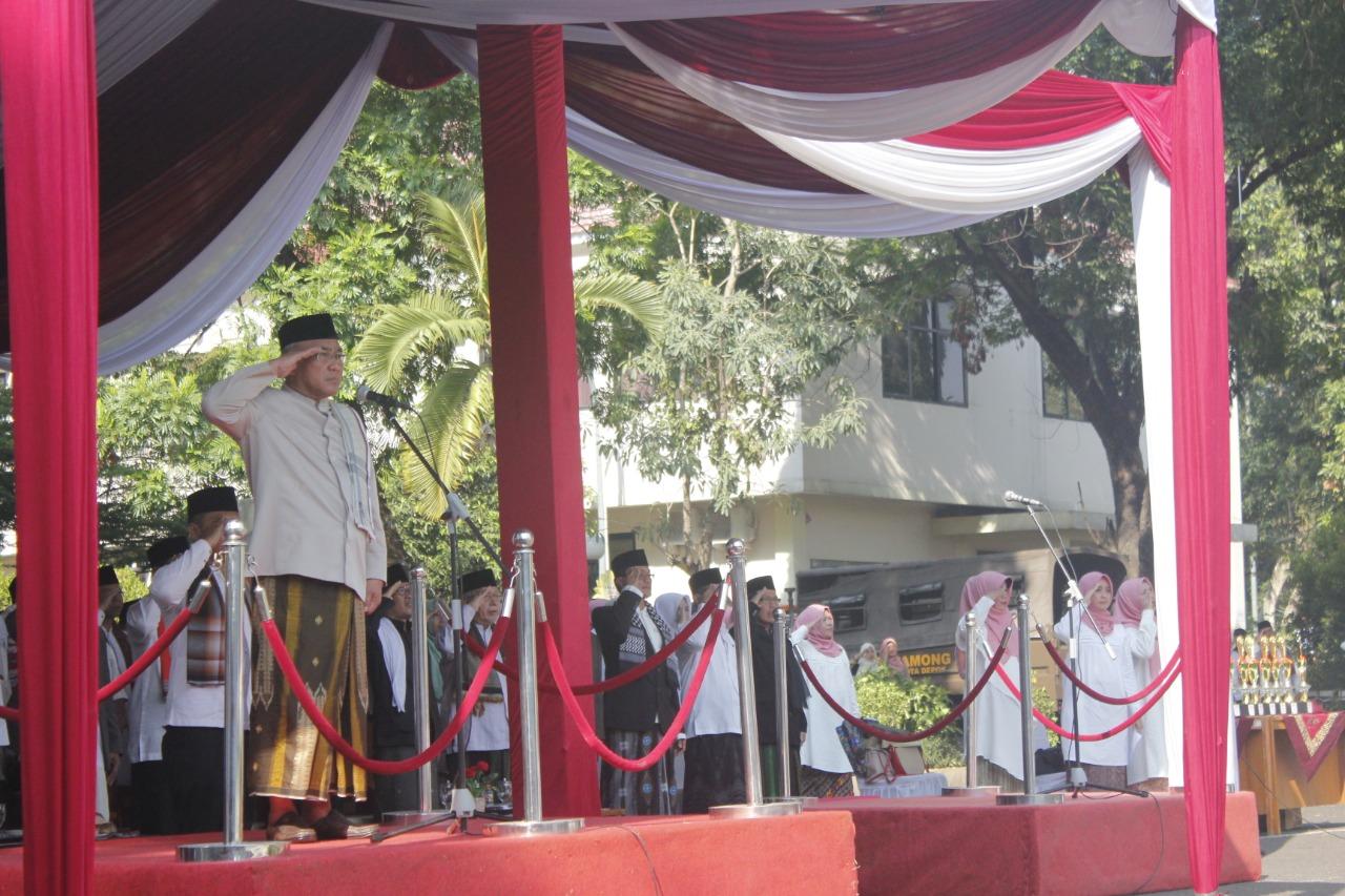 Meriahnya Hari Santri Nasional Di Kota Depok