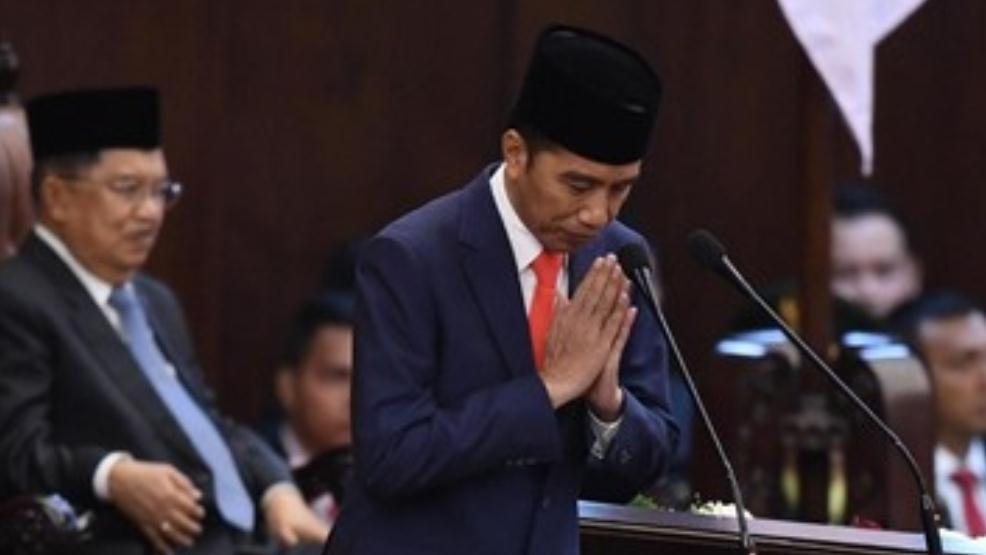 Jokowi Berterima Kasih Kepada Seluruh Aparat Negara dan Masyarakat Amankan Pelantikan