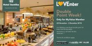 """Lovember"" promo F&B  seluruh unit Hotel Santika, ada diskon sampai 50 % dan double point MyValue"