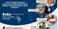 Menarik! FJP Akan Gelar Diskusi Urgensi Media Mengawal Kebijakan Pembangunan Nasional Wujudkan Indonesia Maju