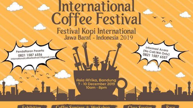 West Java International Coffe Festival 2019 Pertemukan Petani Kopi Indonesia Dengan Industri Dunia