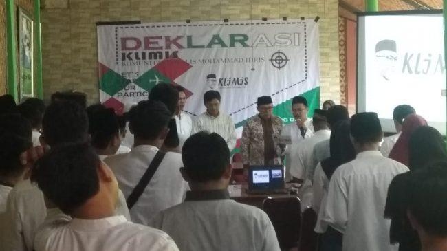 Tidak Perduli Dari Partai Apa diusung, KLIMIS Dukung Mohammad Idris Dua Periode