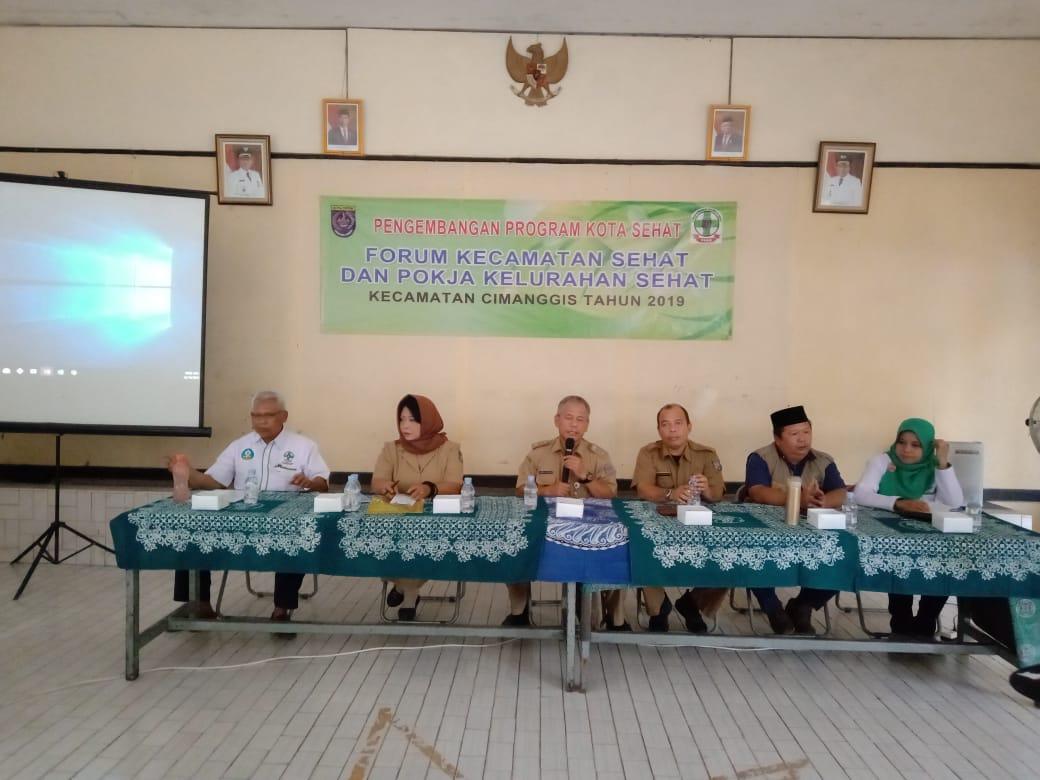 Melalui Kelurahan Tugu, Cimanggis Gelar Pembinaan Pengembangan Program Kota Sehat