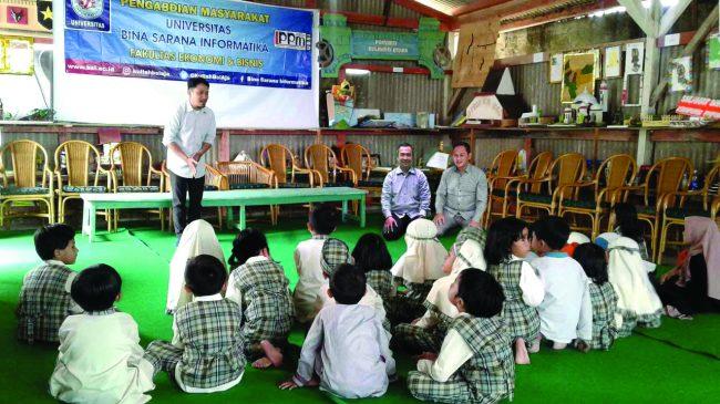 Pengabdian Masyarakat, Dosen Universitas BSI Berbagi Ilmu Penerapan Manajemen Waktu agar Anak Berprestasi