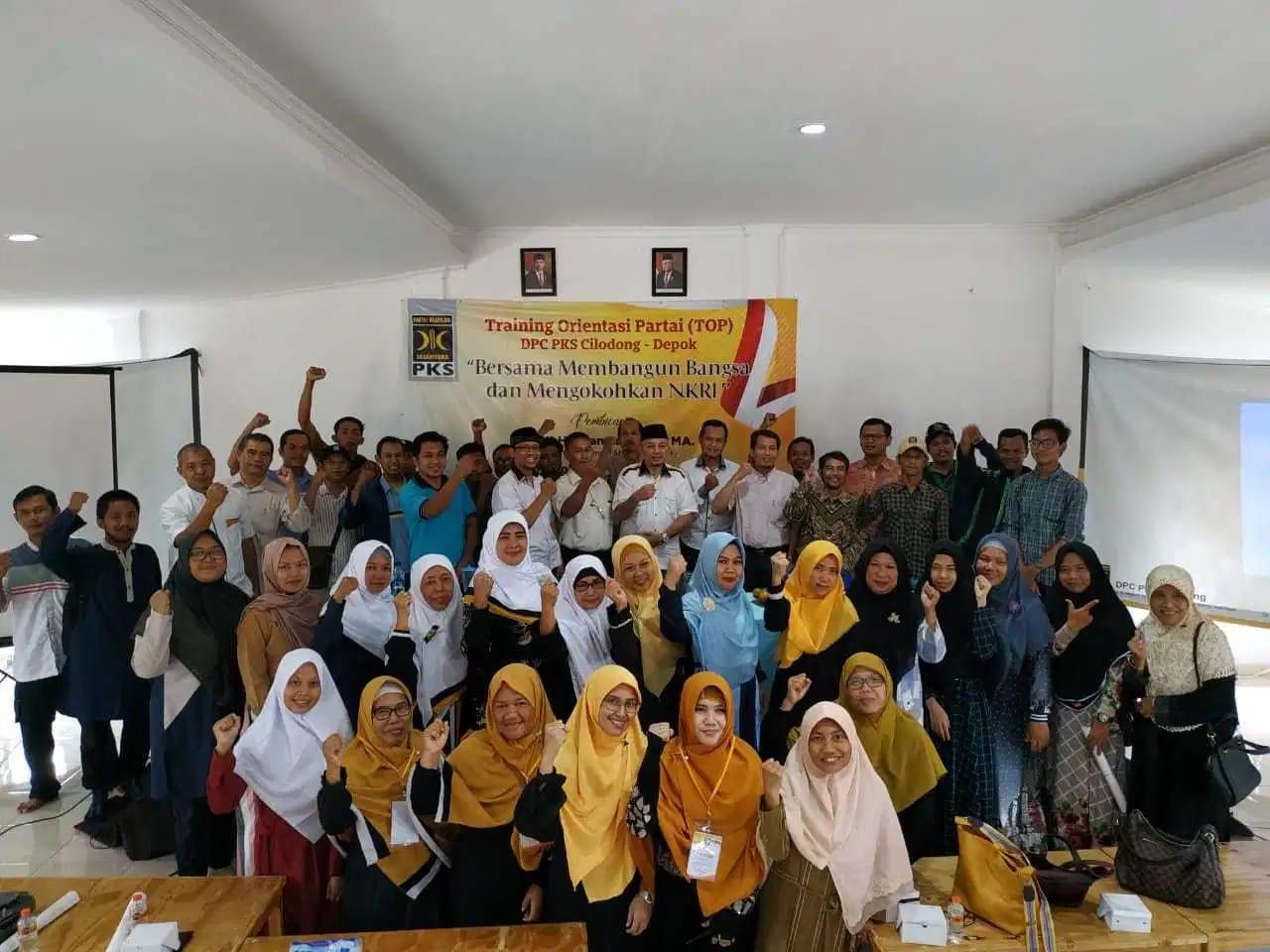 DPC PKS Cilodong Gelar Training Orientasi Partai Untuk Kader Baru