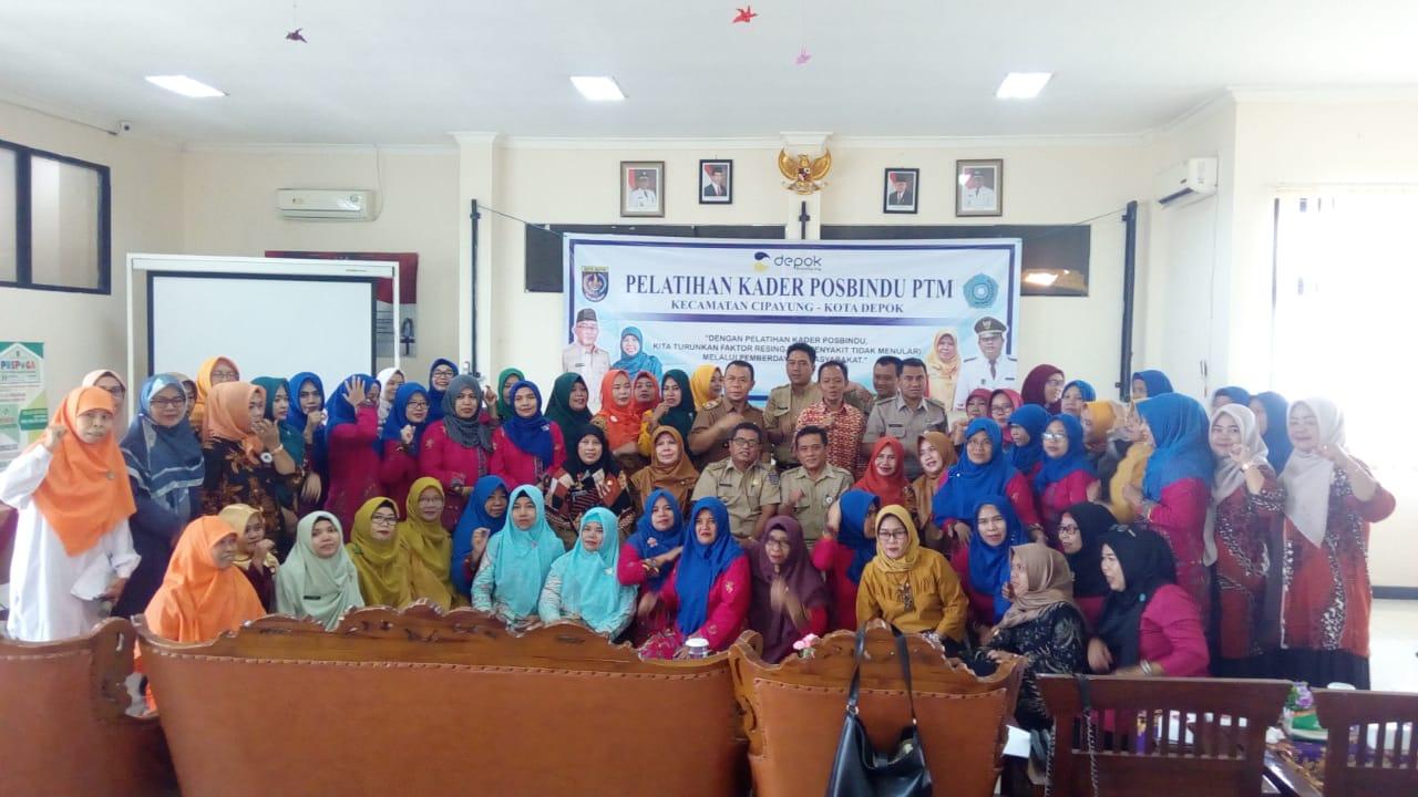 Kecamatan Cipayung Gelar Pelatihan Kader Posbindu PTM