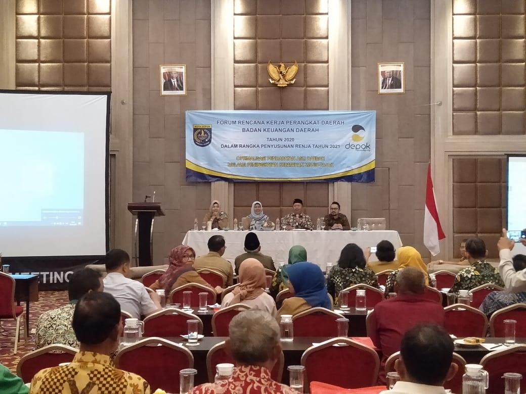 PUPR Depok Prioritaskan Pelebaran Jalan Dan Sumur Resapan Tahun 2021