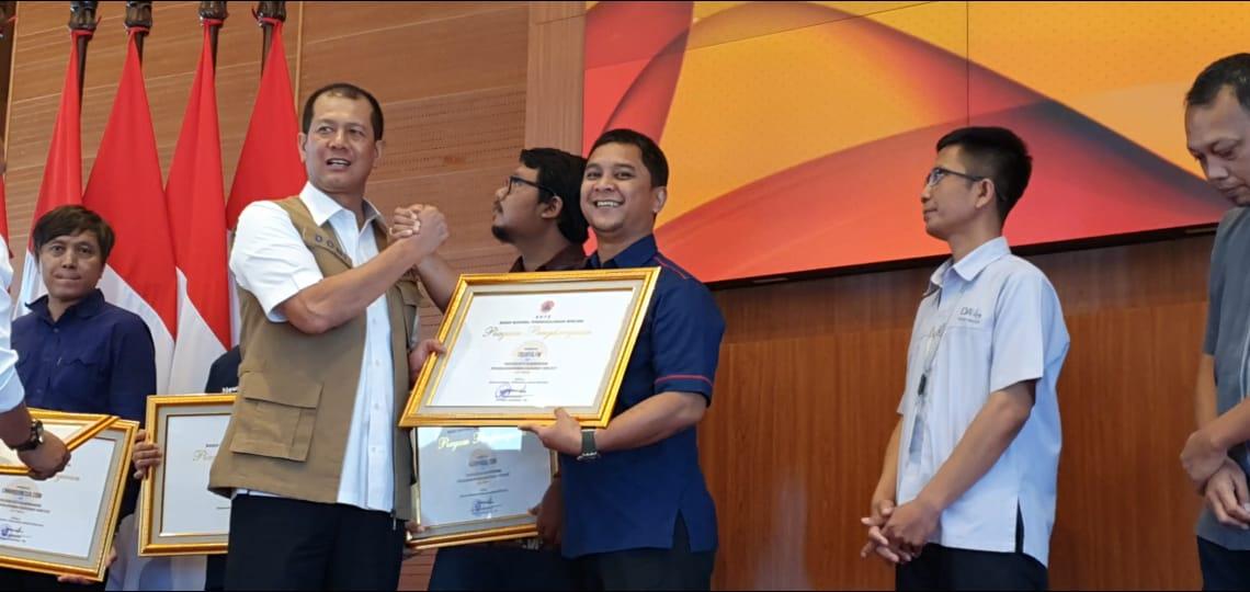 Trijaya FM Raih Penghargaan Dari BNPB
