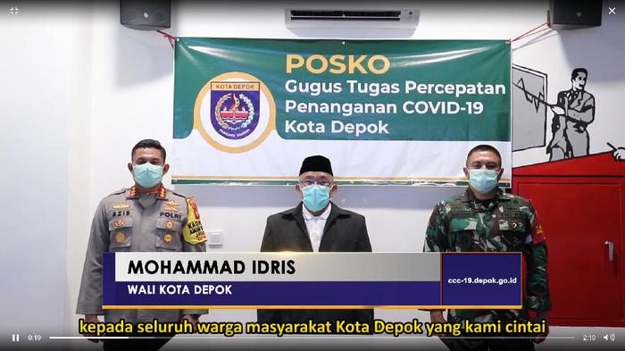 Tak Ada Karantina Wilayah, Depok Berdayakan Kampung Siaga COVID-19