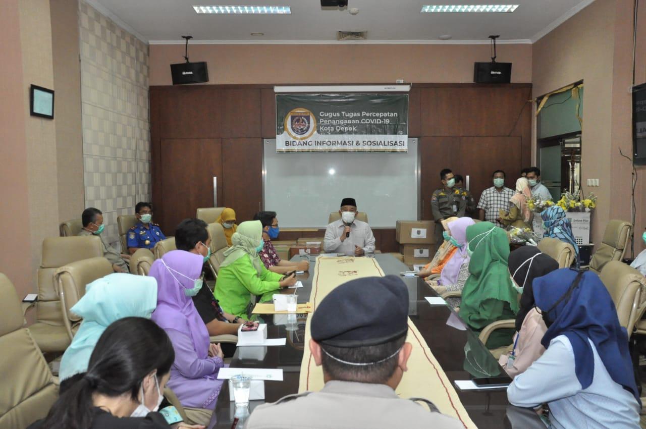 24 Rumah Sakit Dapat Bantuan APD Dari Pemkot Depok