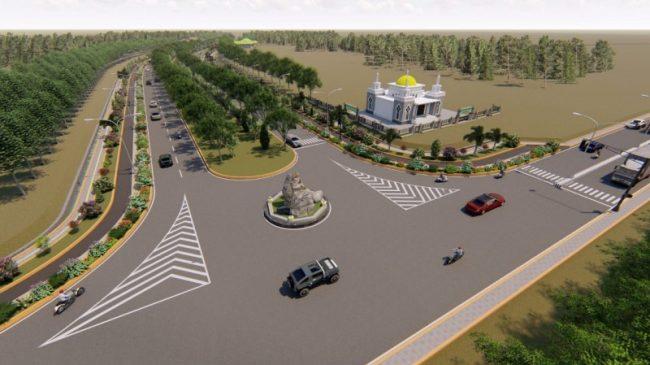Akibat Corona Pembangunan Dua Jalur di Tubaba Ditunda