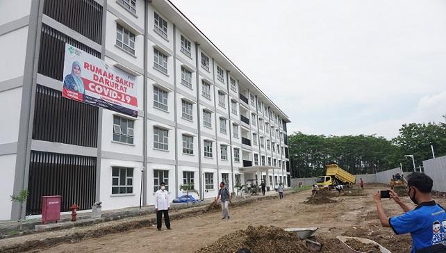 Ditargetkan Dua Pekan Rampung, Kendal Kebut Pembangunan RS Darurat Covid-19