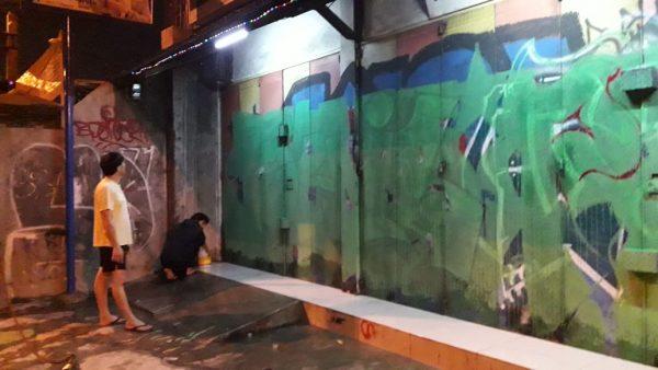 Pelaku Aksi Vandalisme tertangkap Warga Kartini Depok