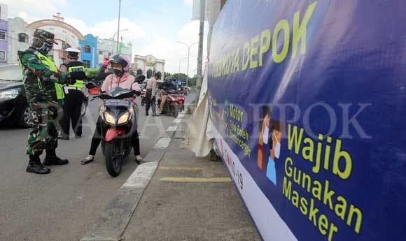 Mulai Besok, Tidak Pakai Masker di Depok Denda Rp 50 ribu