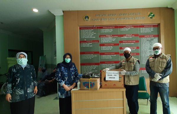 HILMI FPI Gresik Salurkan APD ke Rumah Sakit Umum Daerah Ibnu Sina