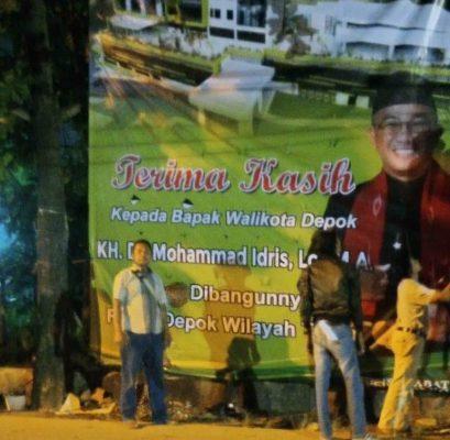 Bangun RSUD,Warga Cimpaeun Apresiasi  Wali Kota Depok, Mohammad Idris
