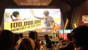 Director of PUBG Mobile for Southeast Asia Mr. Oliver Ye, Foto : siarandepok